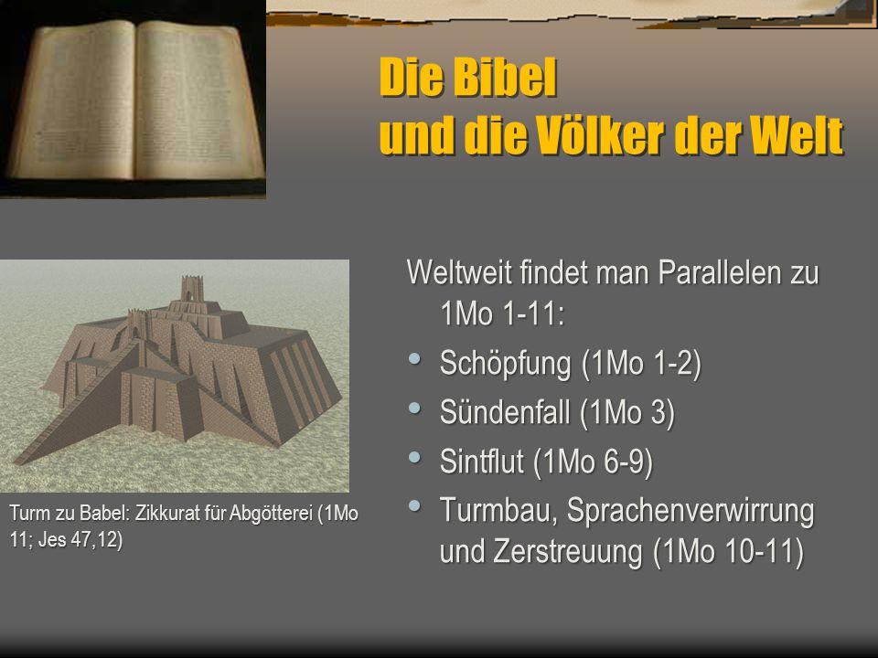 Die Bibel und die Völker der Welt