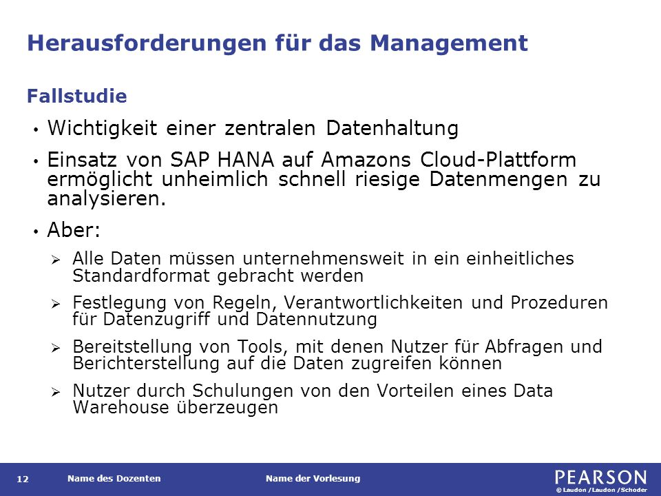 Neues Datenmanagement