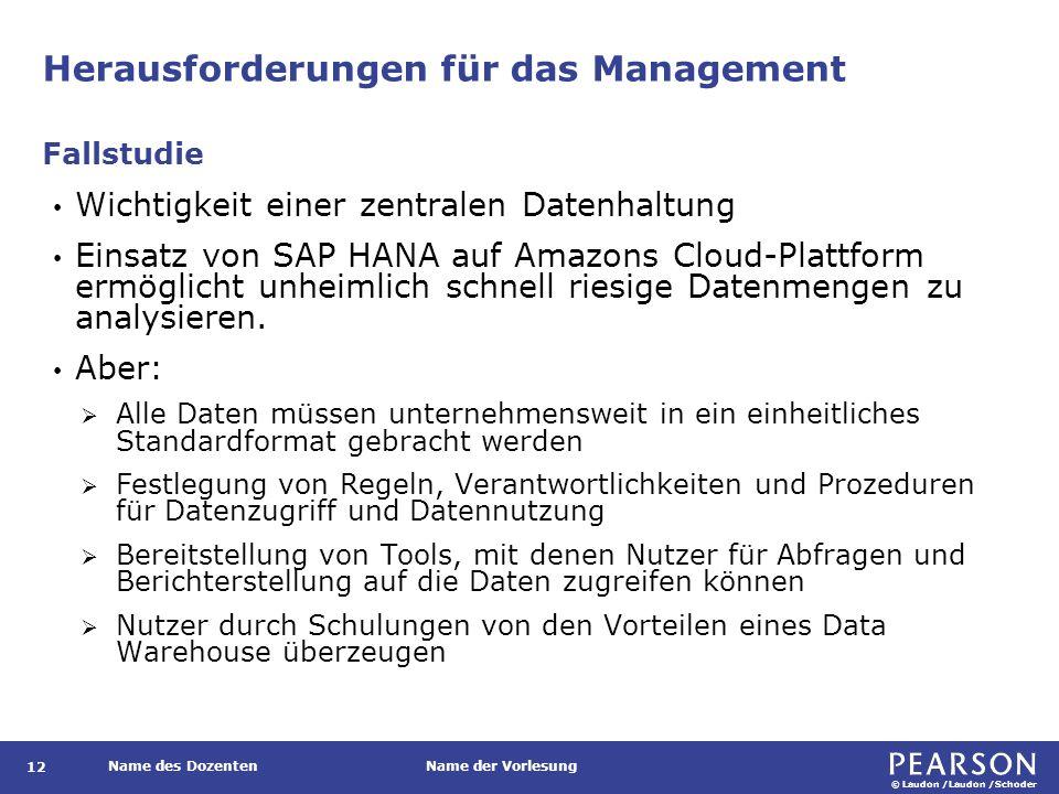 Neues Datenmanagement