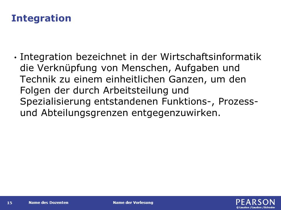 Integrationsdimensionen