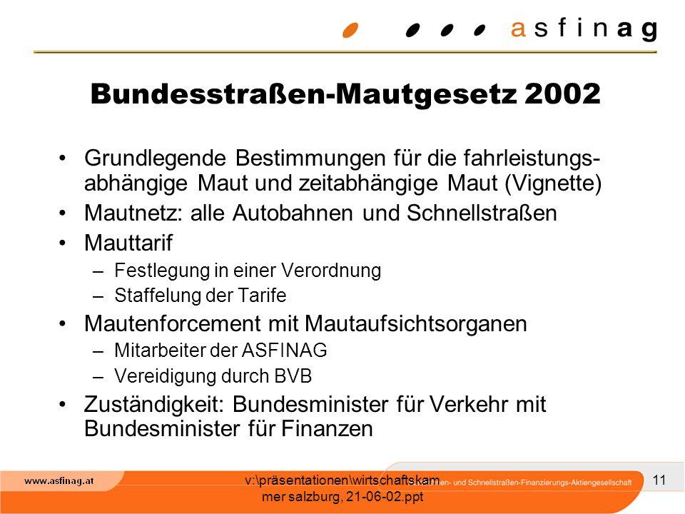 Bundesstraßen-Mautgesetz 2002