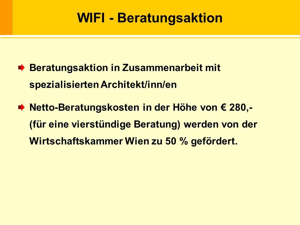 WIFI - Beratungsaktion