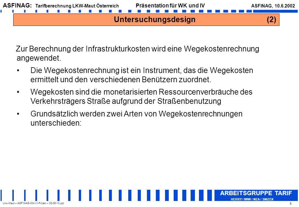 Untersuchungsdesign (2)