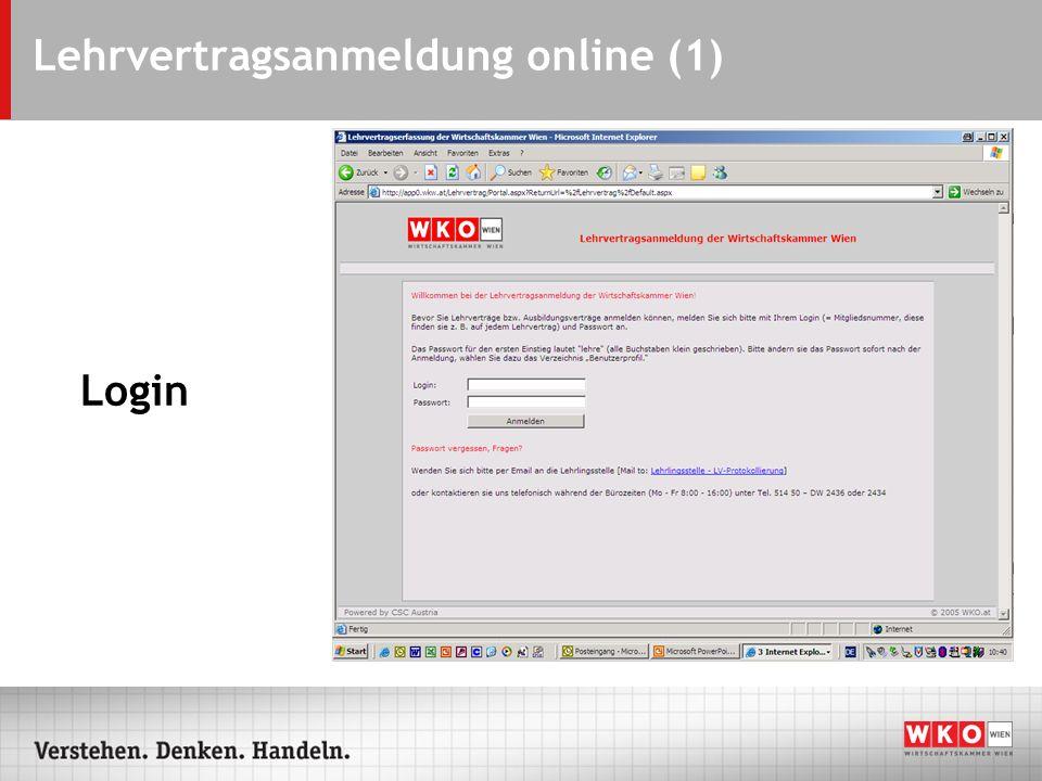 Lehrvertragsanmeldung online (1)