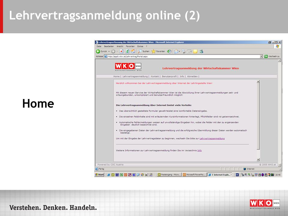 Lehrvertragsanmeldung online (2)