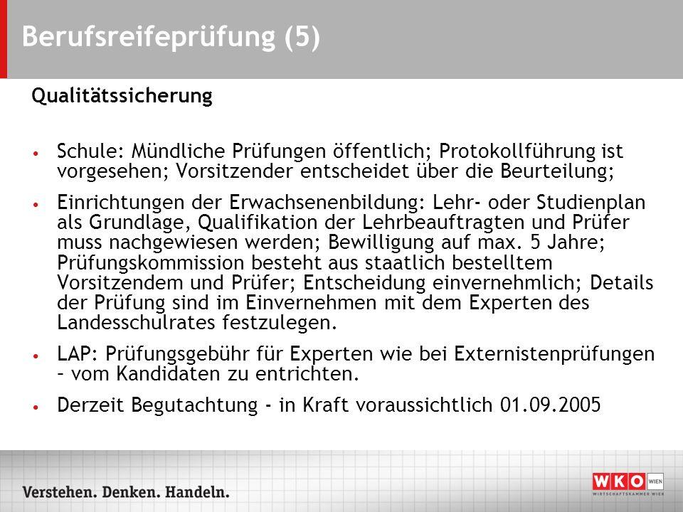 Berufsreifeprüfung (5)