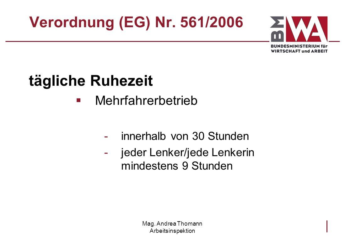 Mag. Andrea Thomann Arbeitsinspektion
