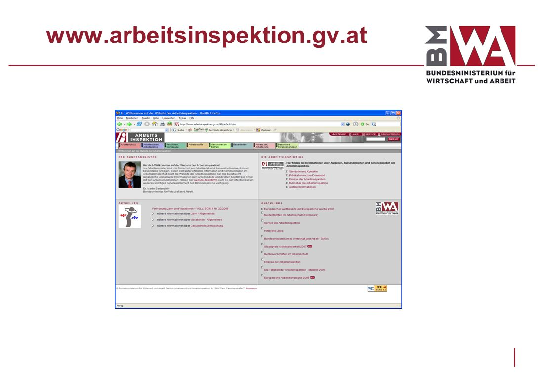 www.arbeitsinspektion.gv.at