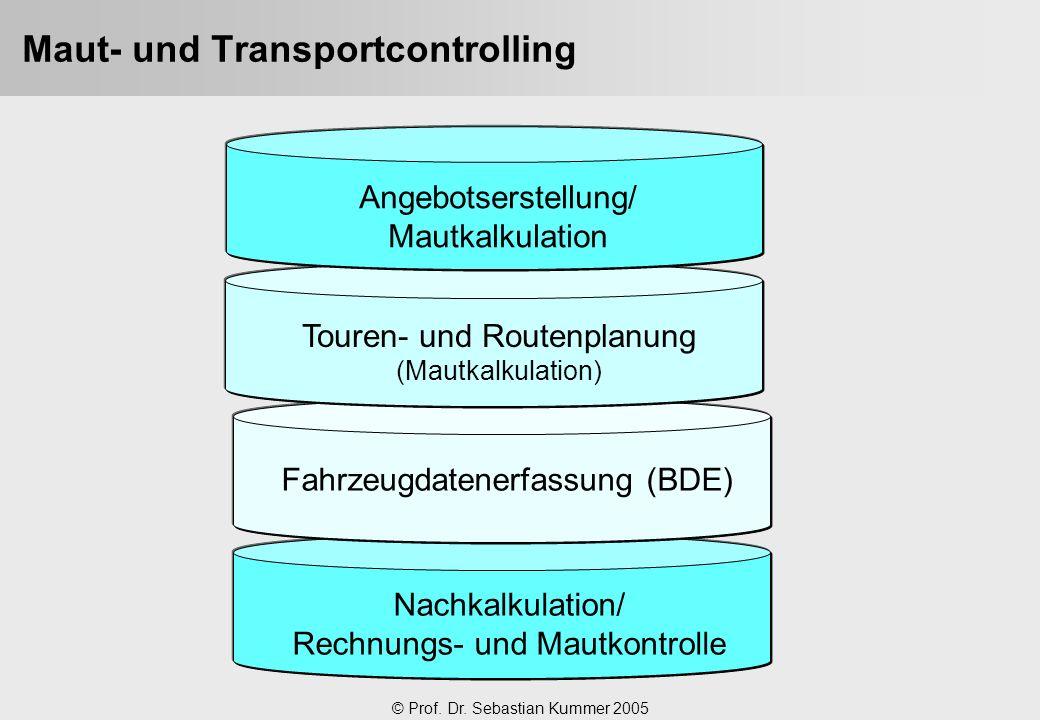 Maut- und Transportcontrolling