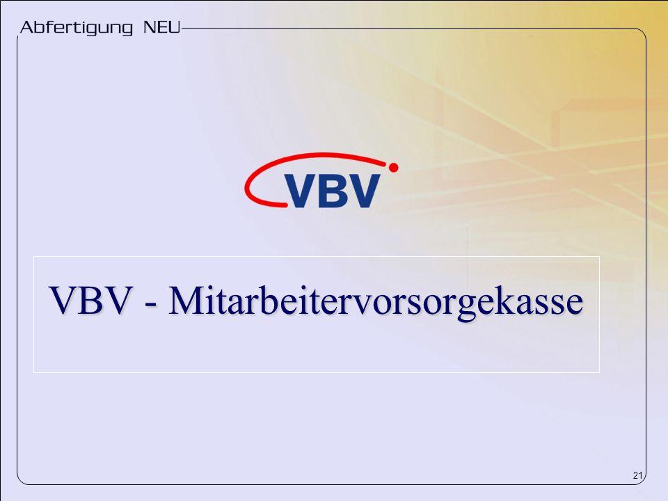 VBV - Mitarbeitervorsorgekasse