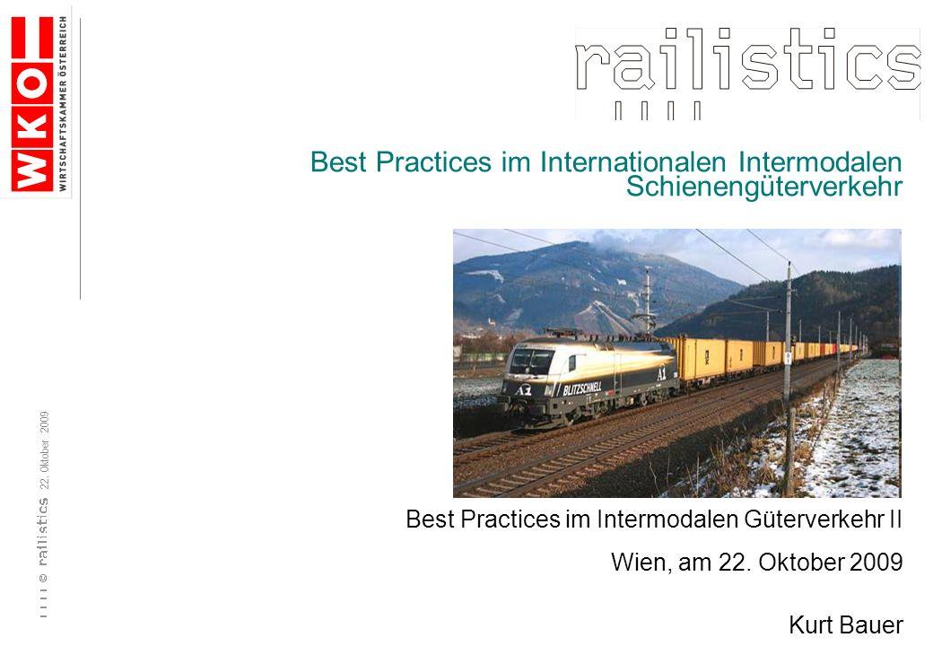 Best Practices im Internationalen Intermodalen Schienengüterverkehr