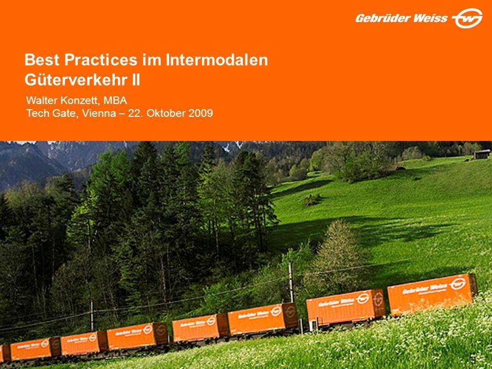 Best Practices im Intermodalen Güterverkehr II