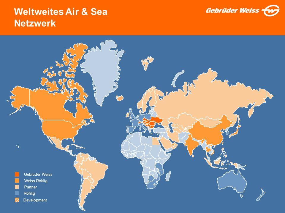 Weltweites Air & Sea Netzwerk