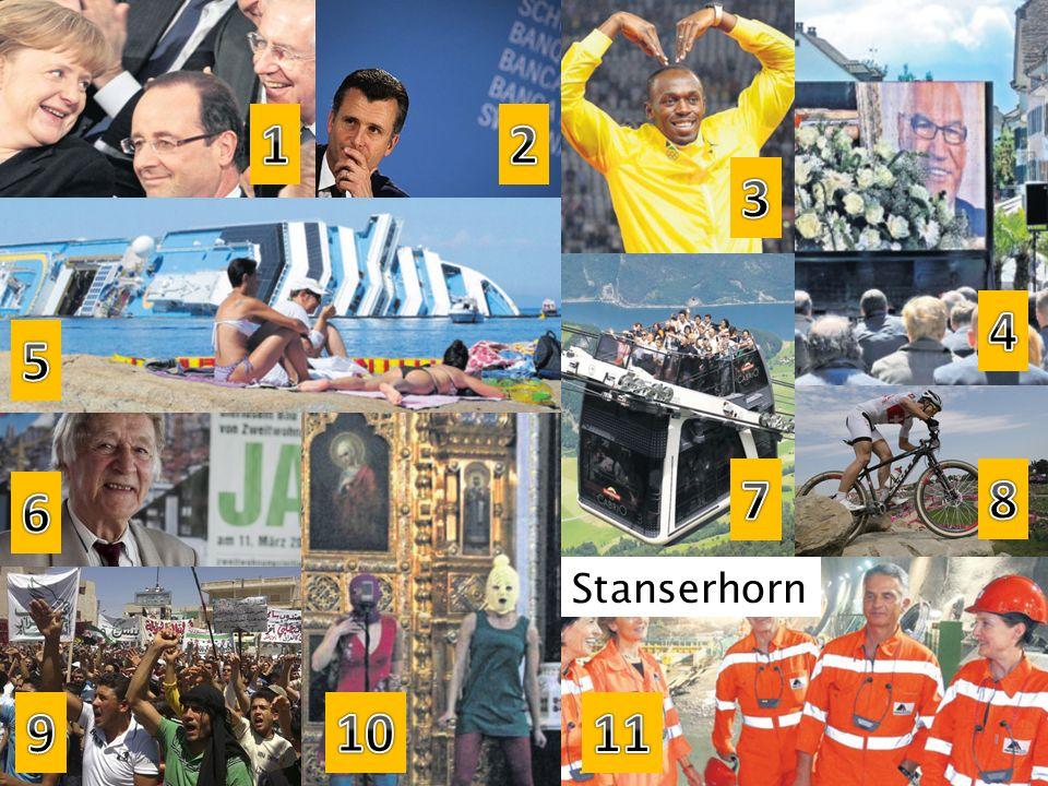 1 2 3 4 5 7 8 6 Stanserhorn 9 10 11