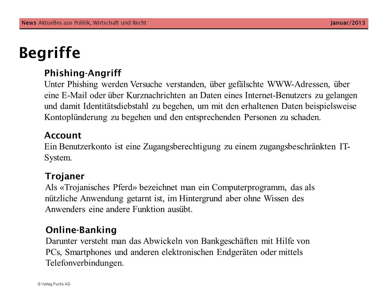 News Aktuelles aus Politik, Wirtschaft und Recht Januar/2013