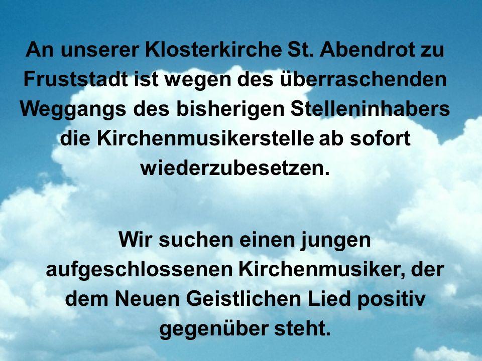 An unserer Klosterkirche St