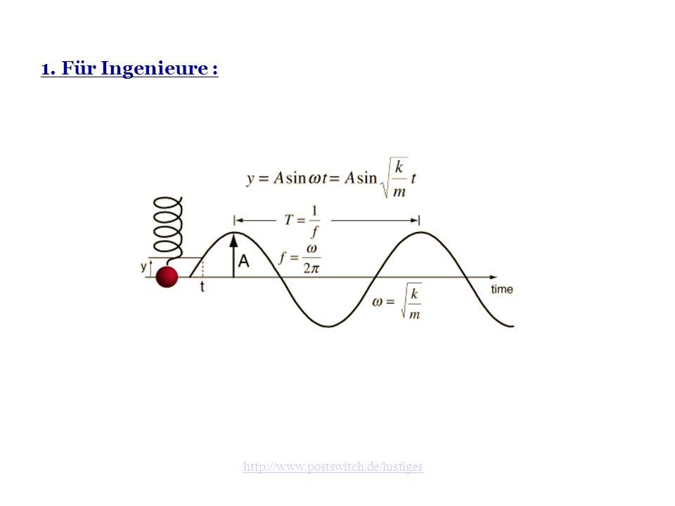 1. Für Ingenieure :