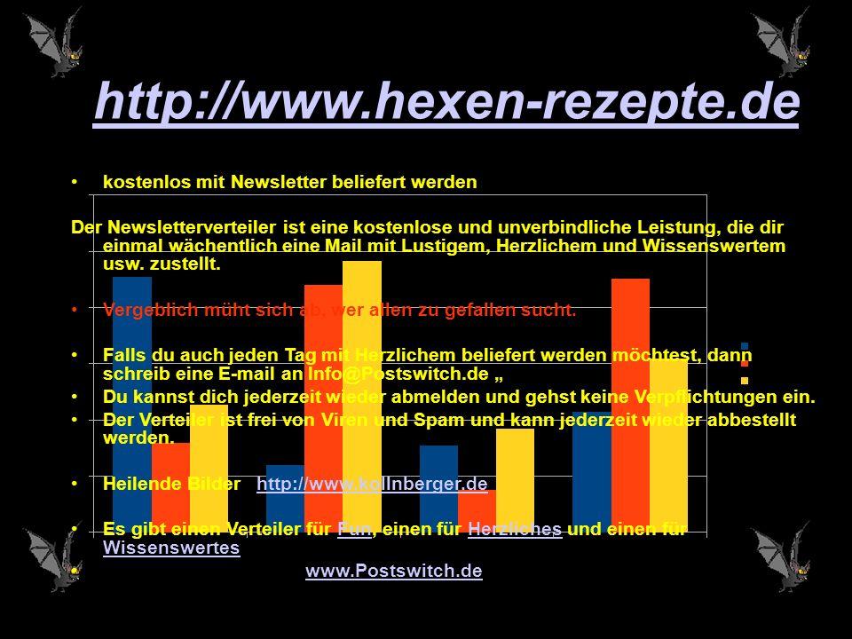 http://www.hexen-rezepte.de kostenlos mit Newsletter beliefert werden
