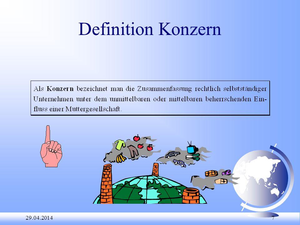 Definition Konzern 28.03.2017