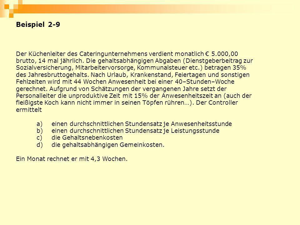 Beispiel 2-9