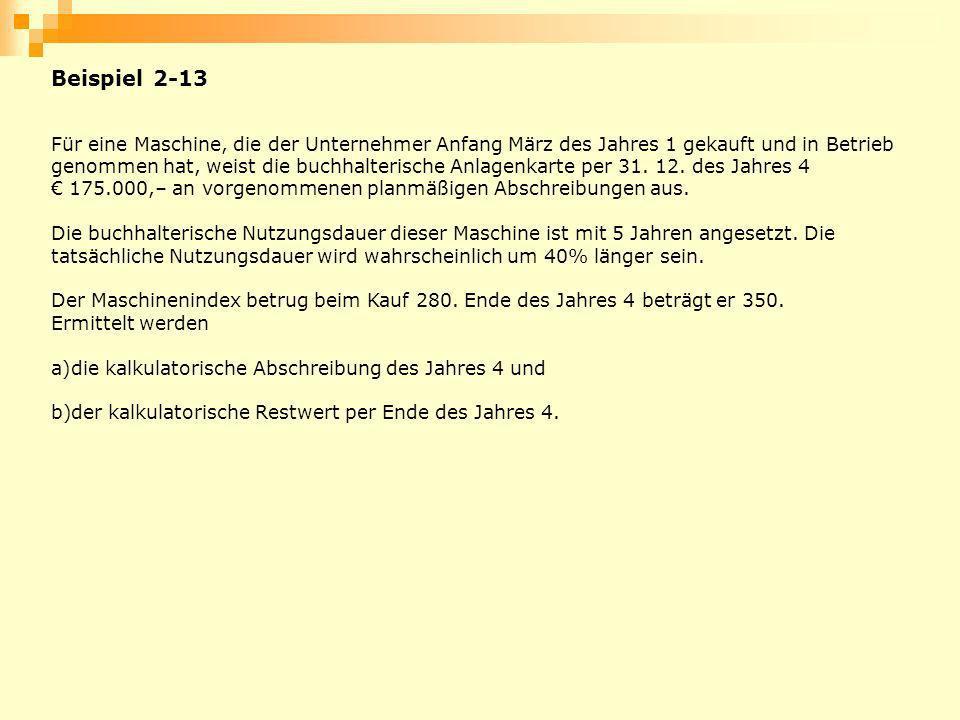 Beispiel 2-13