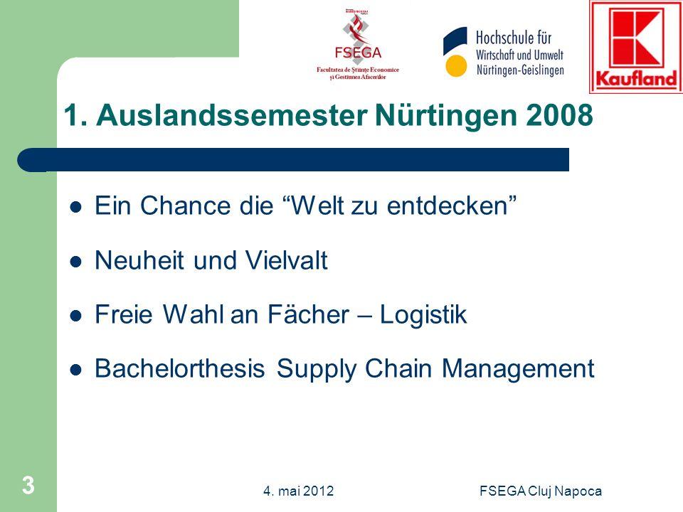 1. Auslandssemester Nürtingen 2008