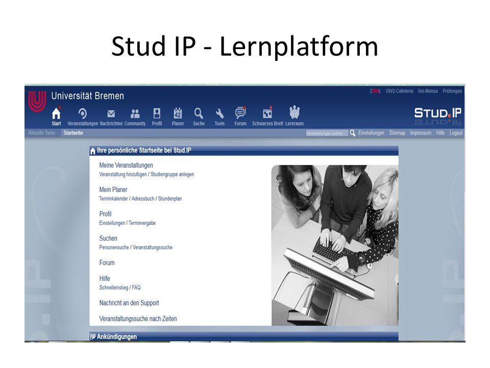 Stud IP - Lernplatform