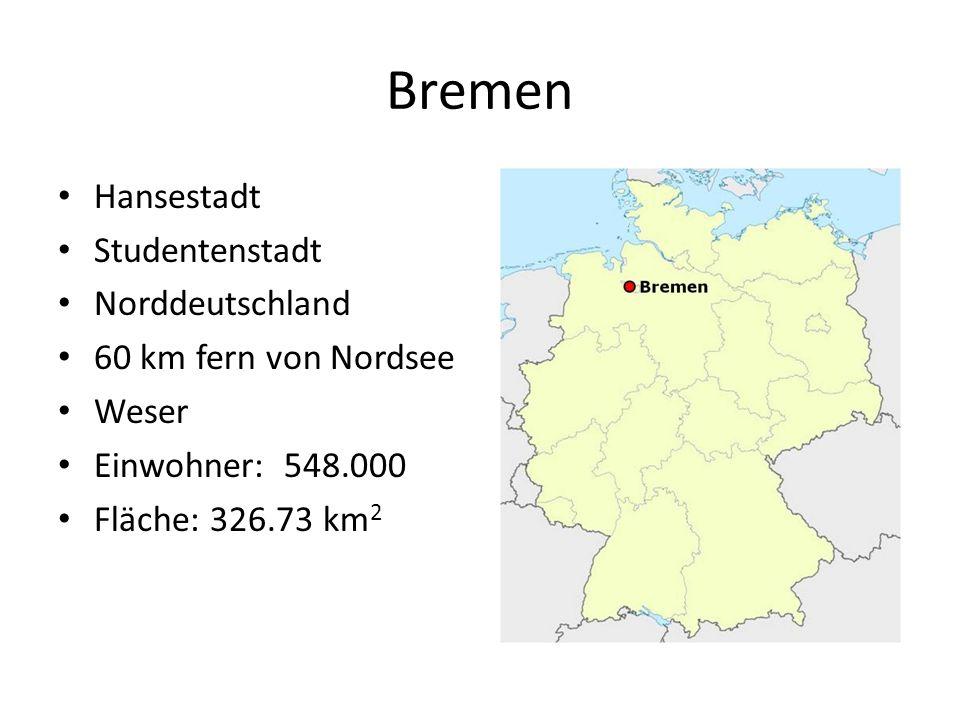 Bremen Hansestadt Studentenstadt Norddeutschland