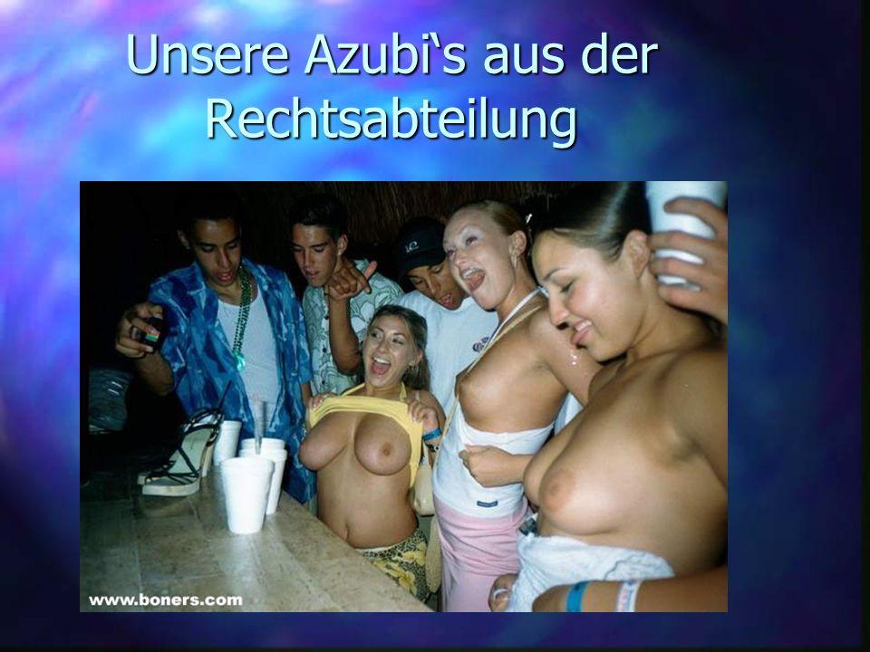 Unsere Azubi's aus der Rechtsabteilung