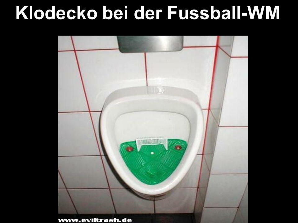Klodecko bei der Fussball-WM