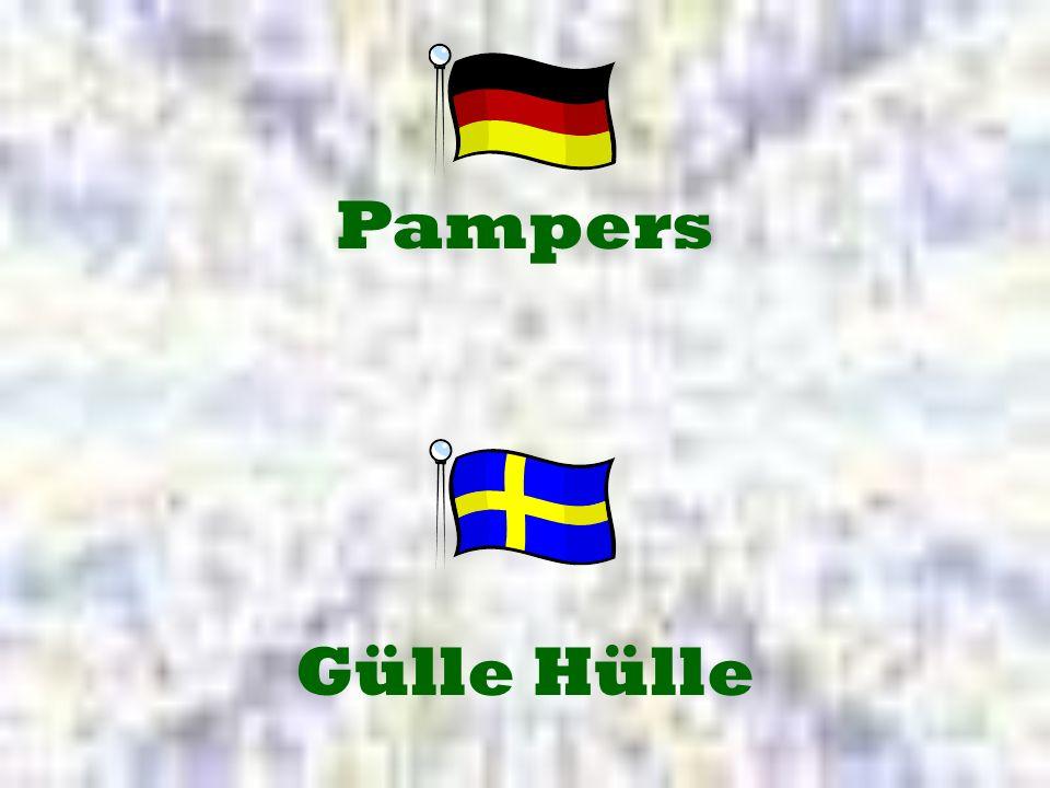 Pampers Gülle Hülle
