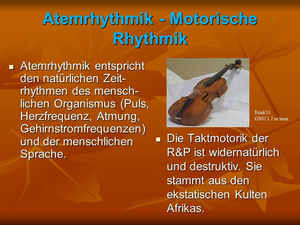 Atemrhythmik - Motorische Rhythmik