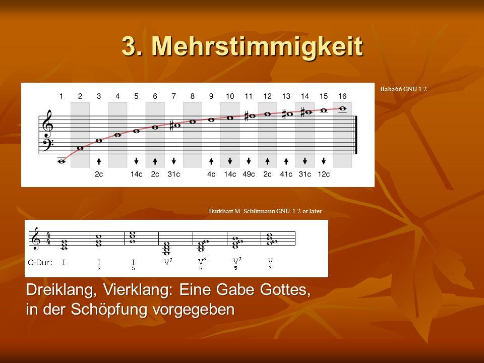 3. Mehrstimmigkeit Baba66 GNU 1.2. Burkhart M. Schürmann GNU 1.2 or later.