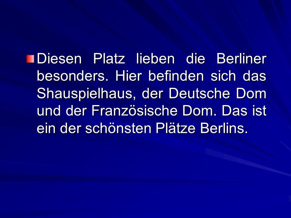 Diesen Platz lieben die Berliner besonders