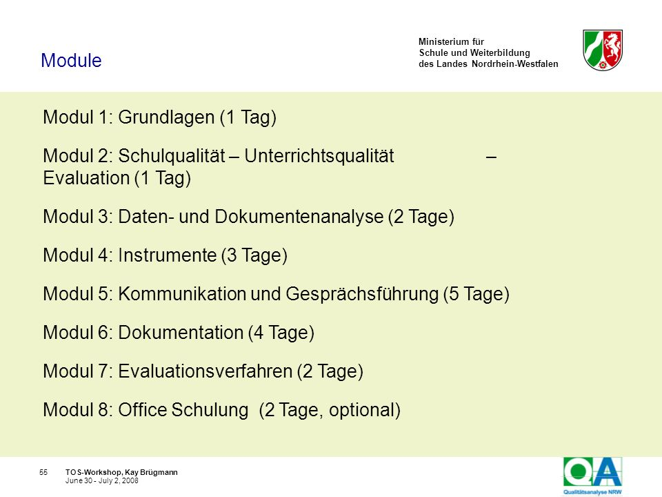 Modul 1: Grundlagen (1 Tag)