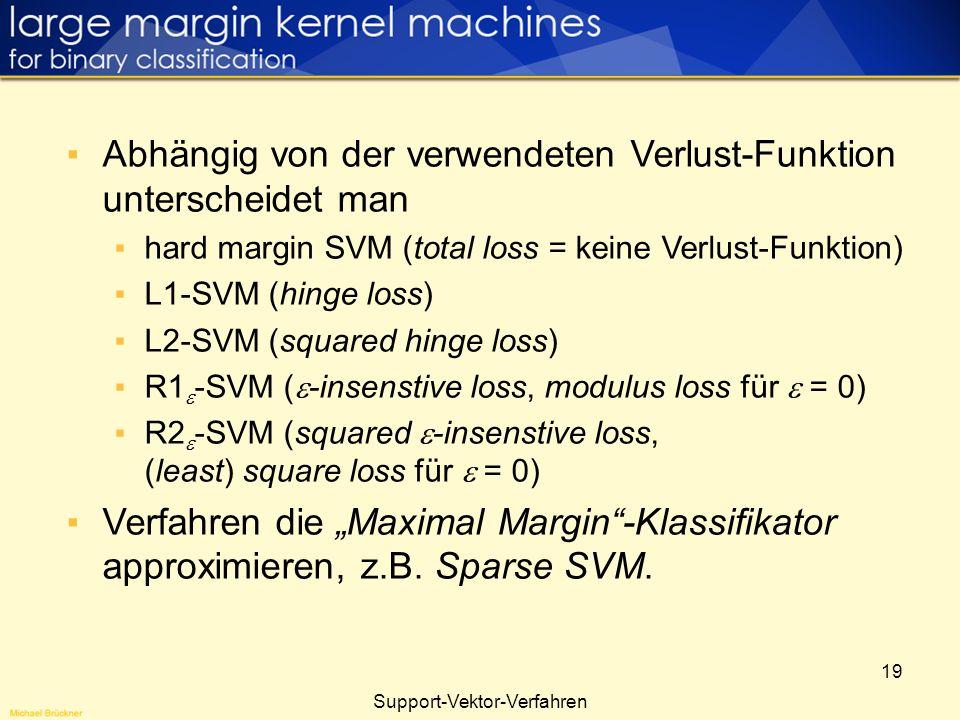 Support-Vektor-Verfahren