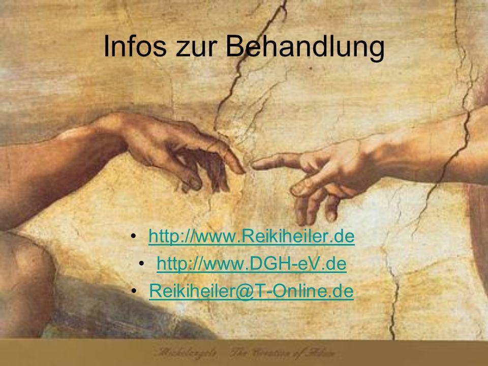 Infos zur Behandlung http://www.Reikiheiler.de http://www.DGH-eV.de