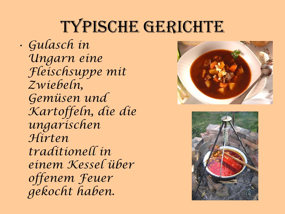 Typische Gerichte
