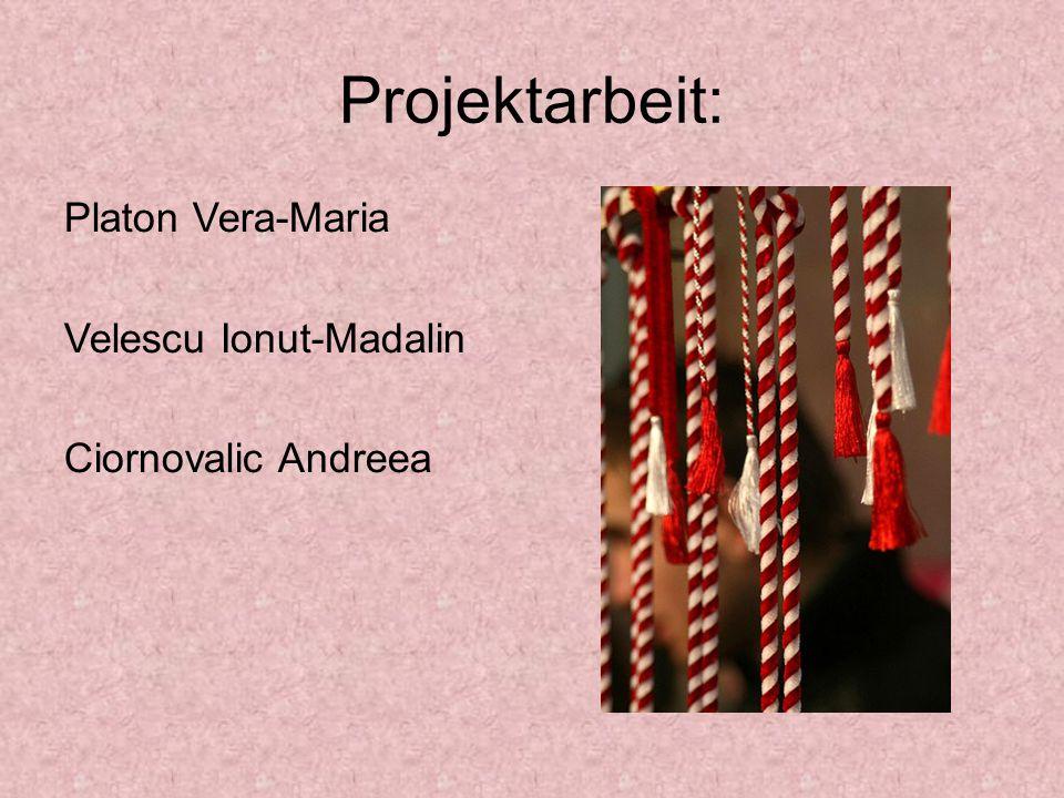 Projektarbeit: Platon Vera-Maria Velescu Ionut-Madalin