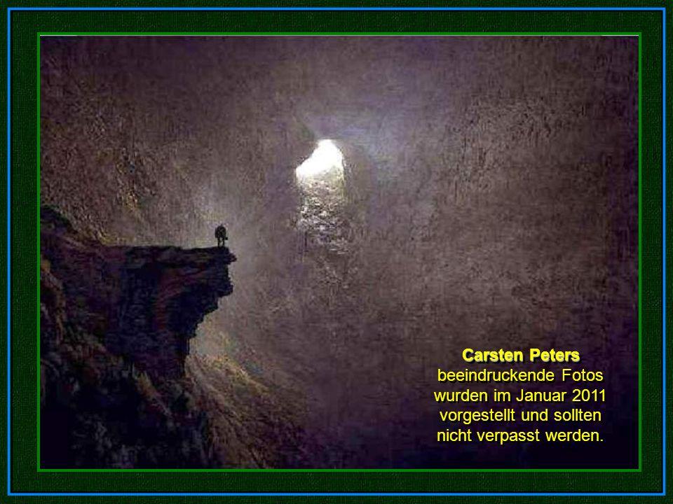Carsten Peters beeindruckende Fotos wurden im Januar 2011 vorgestellt und sollten nicht verpasst werden.