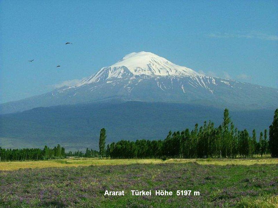 Ararat Türkei Höhe 5197 m