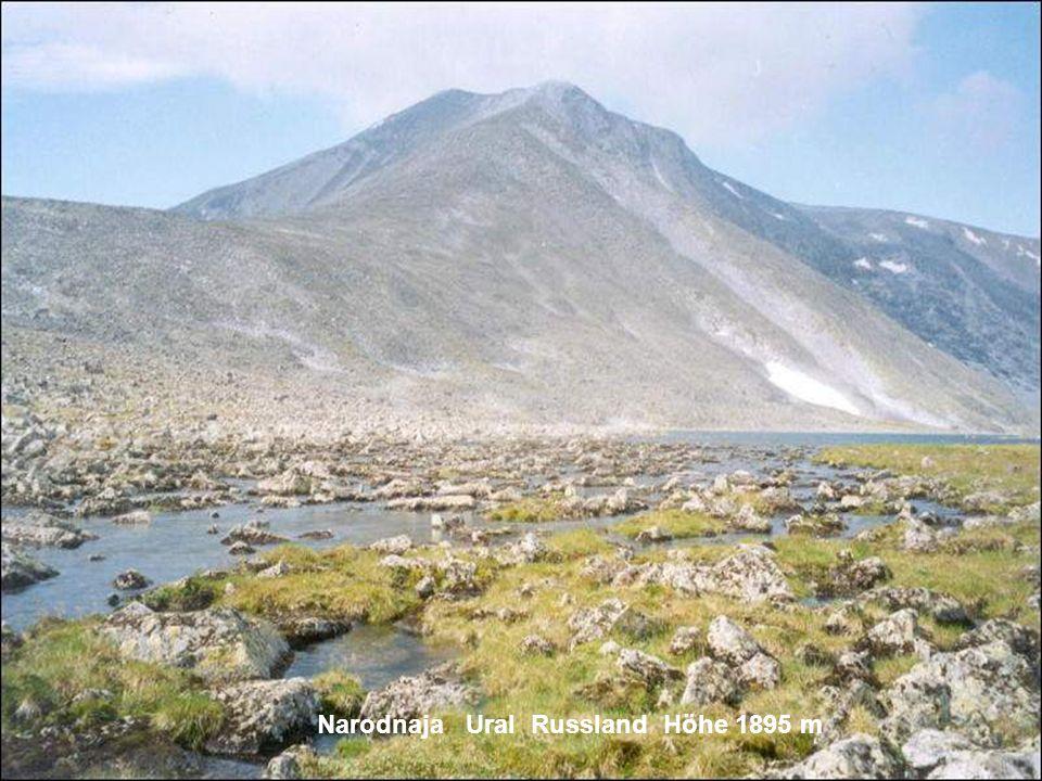 Narodnaja Ural Russland Höhe 1895 m