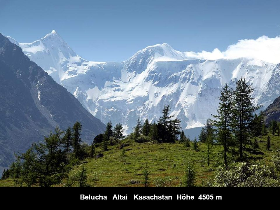 Belucha Altai Kasachstan Höhe 4505 m