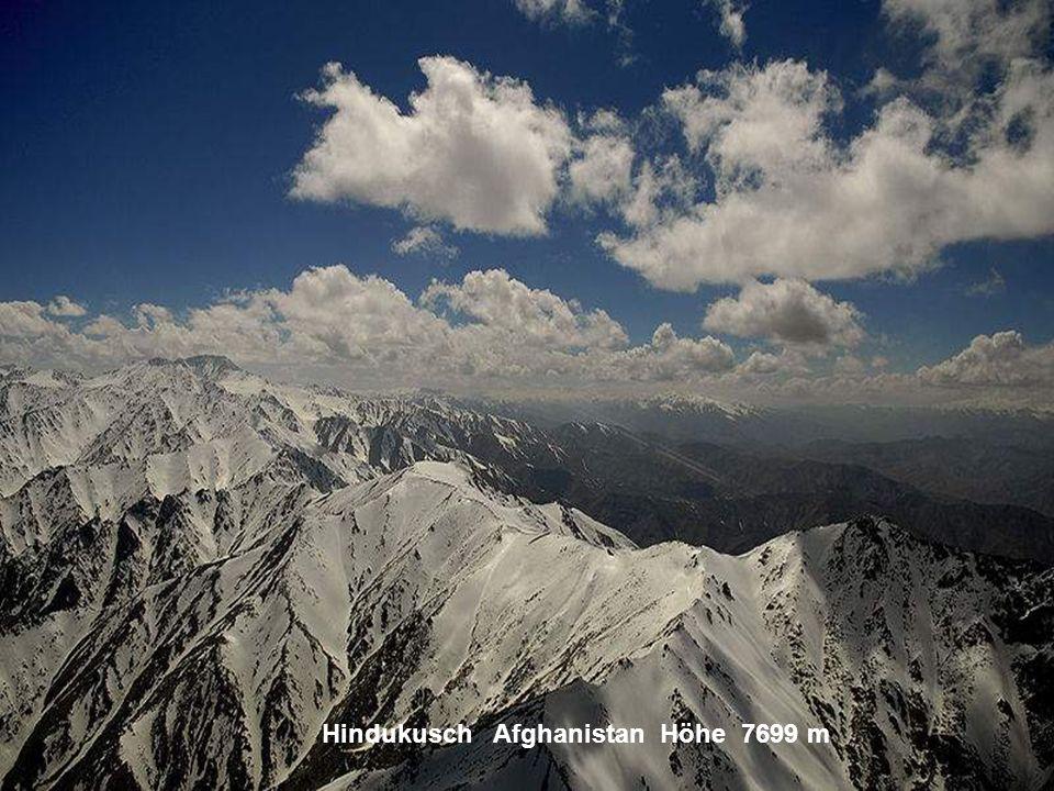 Hindukusch Afghanistan Höhe 7699 m