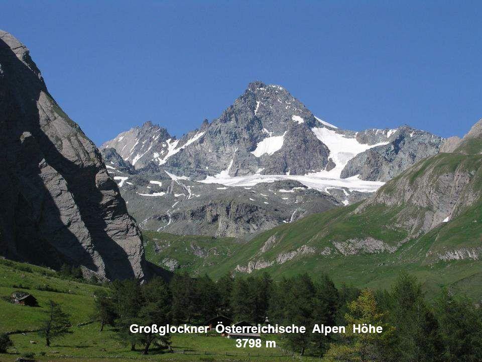 Großglockner Österreichische Alpen Höhe 3798 m