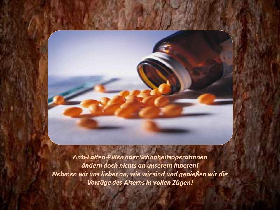 Anti-Falten-Pillen oder Schönheitsoperationen