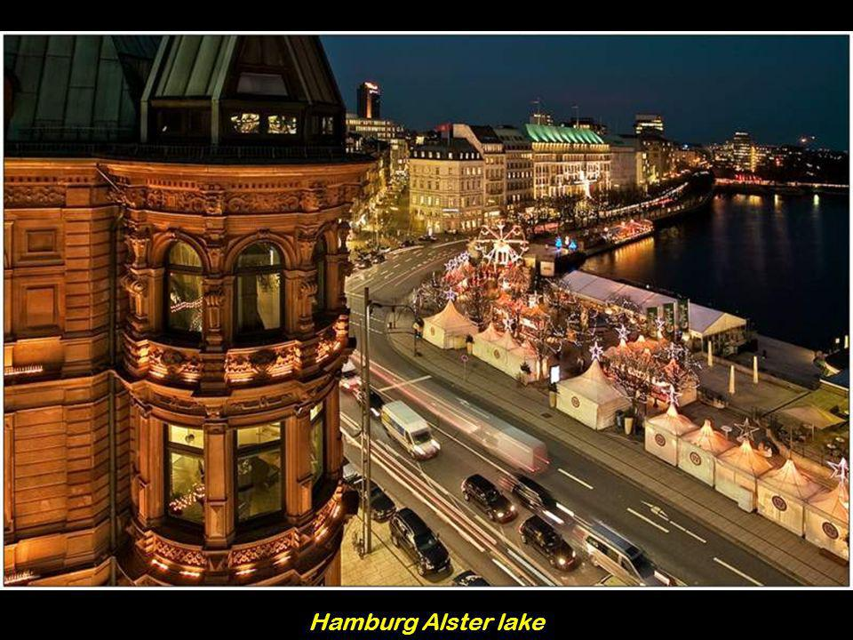 Hamburg Alster lake