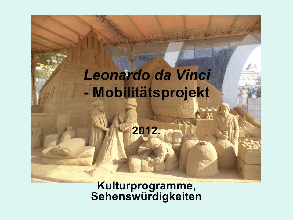 Leonardo da Vinci - Mobilitätsprojekt