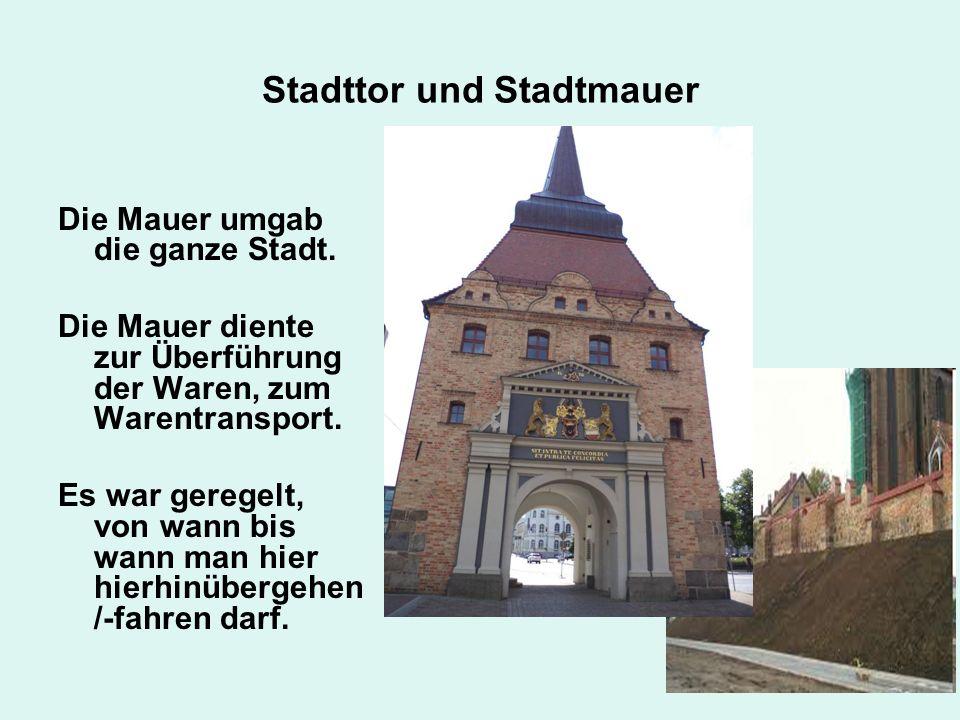 Stadttor und Stadtmauer