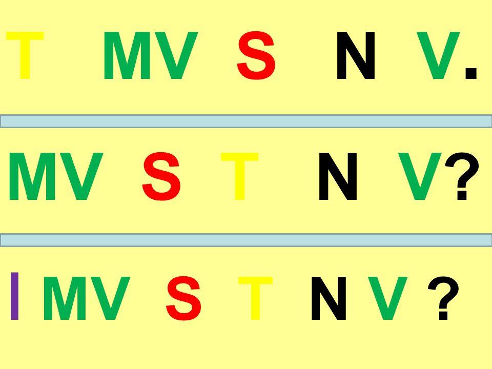 T MV S N V. MV S T N V I MV S T N V